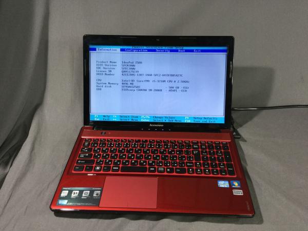 Ideapad Z580の画像