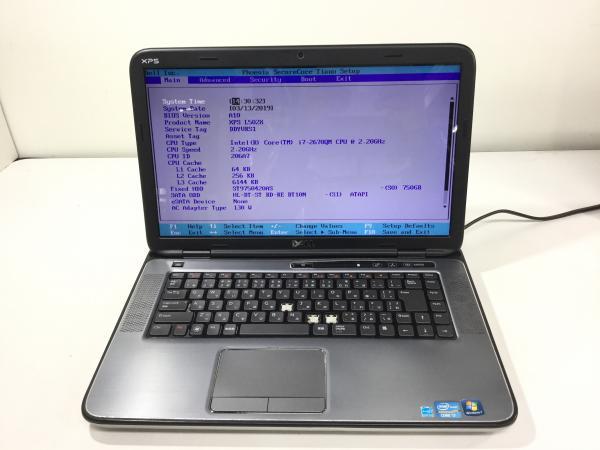 XPS L502Xの画像
